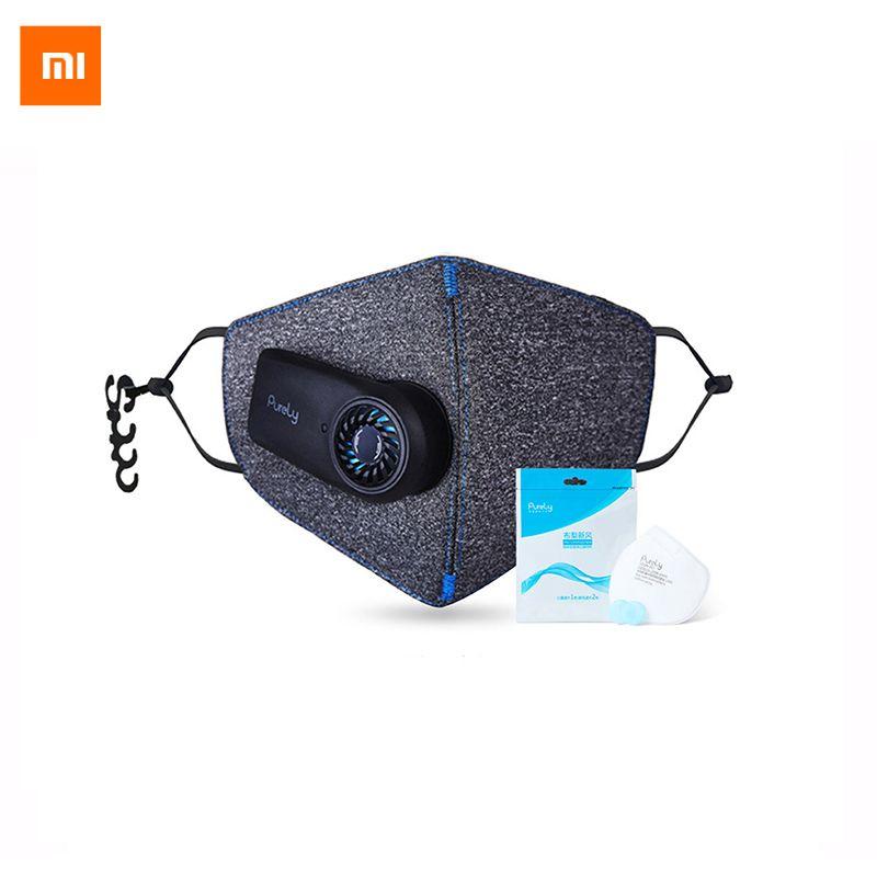 Nouveau arrivel Xiaomi masque purement Air Anti-Pollution PM2.5 550 mAh Battreies filtre Rechargeable