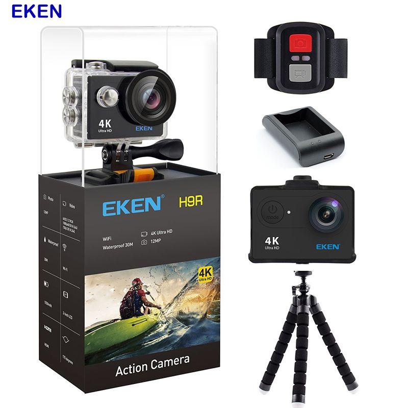 Original Eken Action Camera 4k Camera Wifi Waterproof Sports Camera 12MP 170 Degree Wide Angle Car Drone Camera