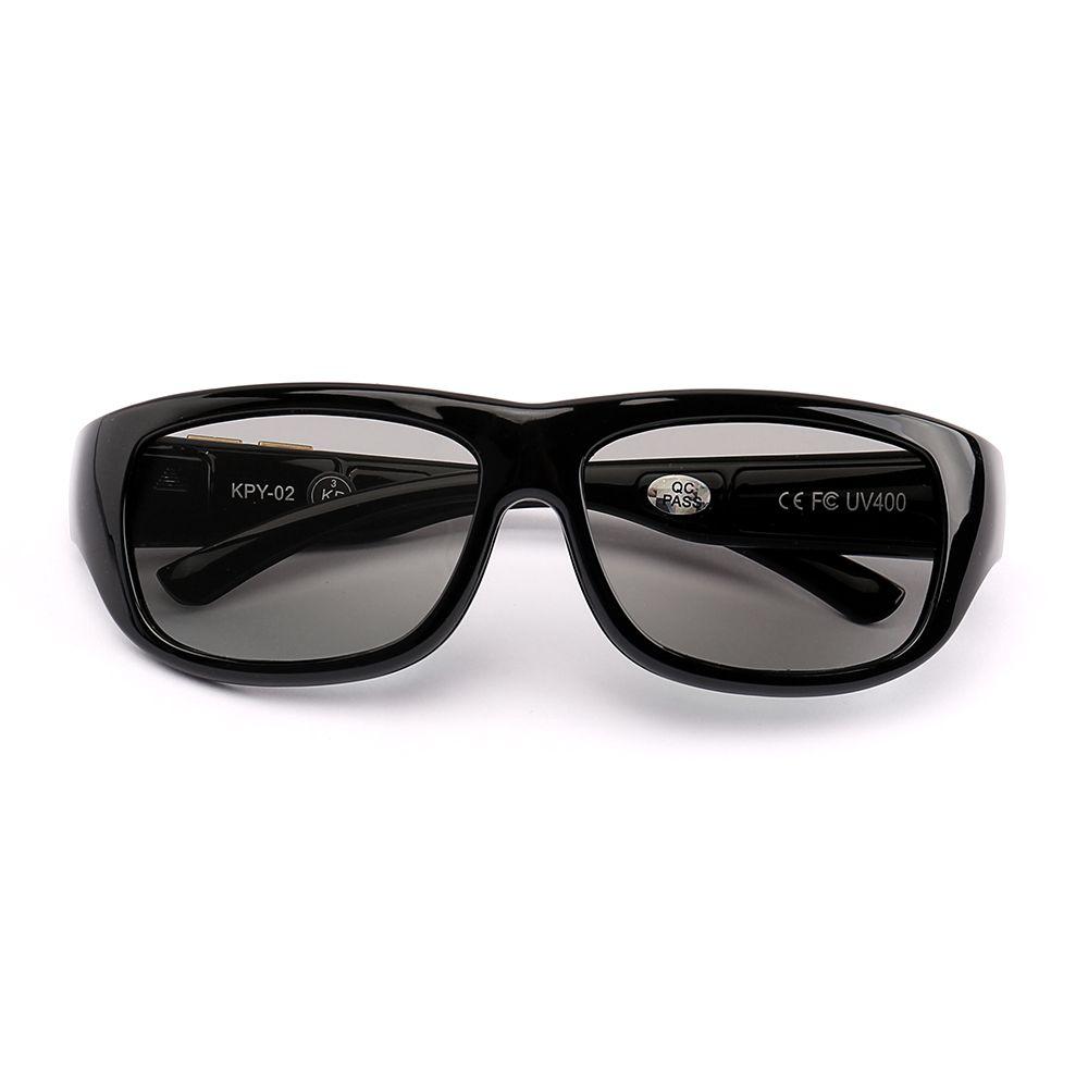 La Vie Original Design Magic Smart LCD Sunglasses Polarized Lenses Adjustable Transmittance Lenses Liquid Crystal Lenses UV400