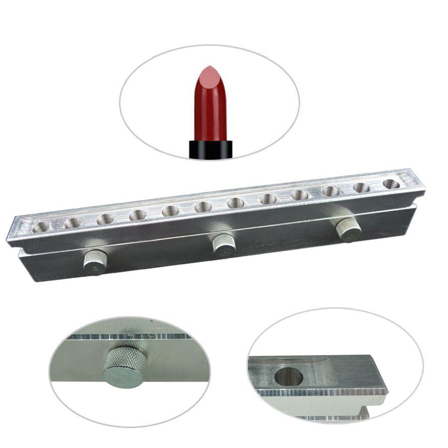 1 satz 12 hohlraum lippenstift form super gute qualität aluminium 12,1mm 12,7mm 11mm tropfen, moon drop anpassen private logo
