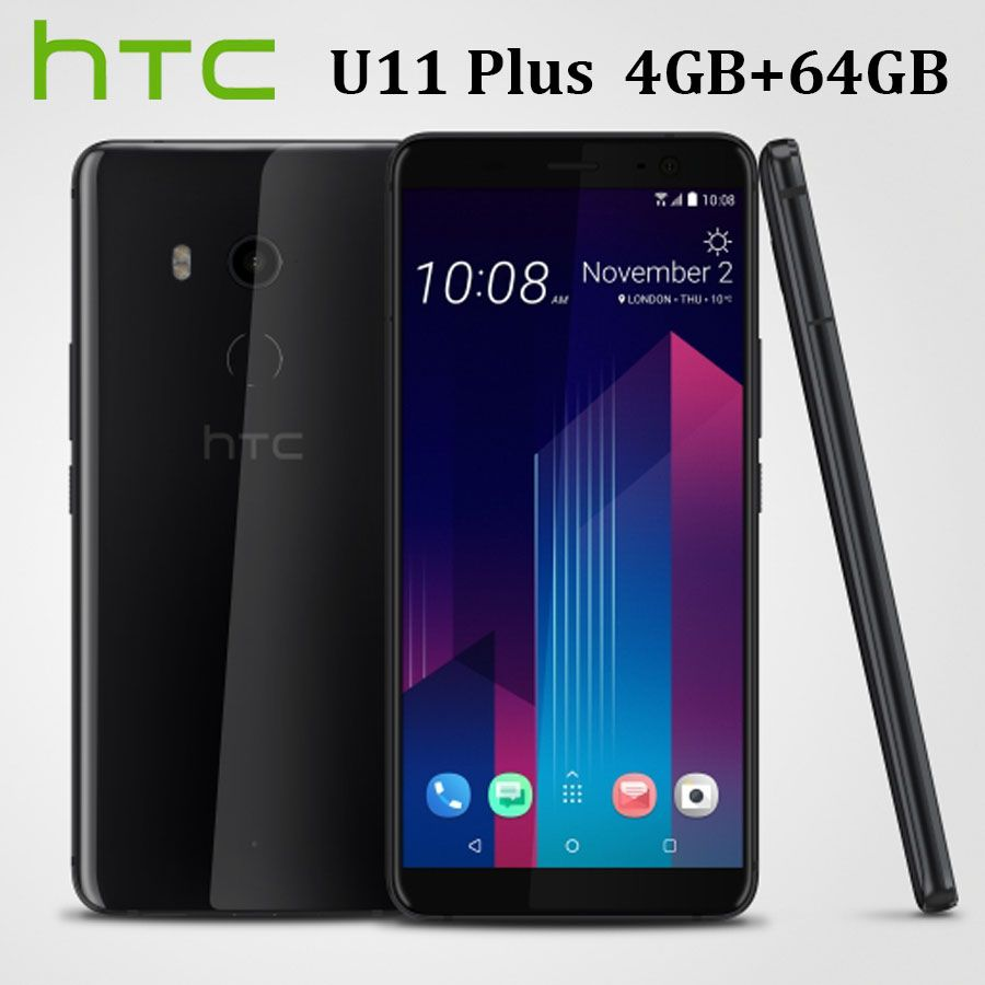 HK Version Entblößt Neue HTC U11 Plus U11 + 4G LTE Handy 6 GB RAM 128 GB ROM octa Core 6,0