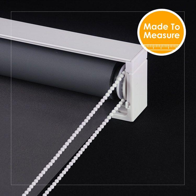 Europen Conception Solide Couleur 100% Blackout Rouleau Stores avec avant valance Fenêtre Décoration Sur mesure stores Personnalisé