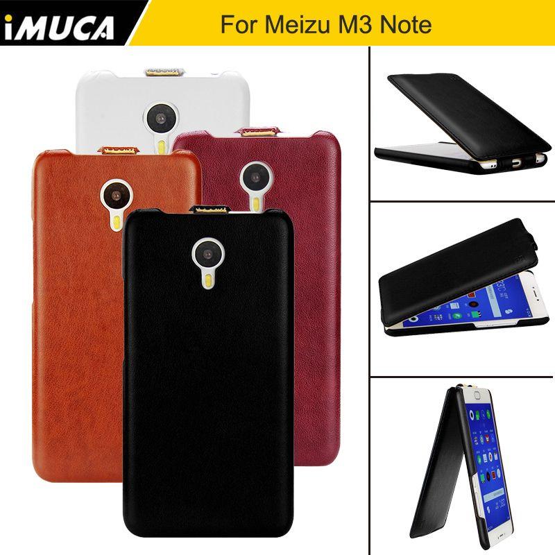 Pour Meizu M3 Note Cas 5.5 pouce Flip PU En Cuir de Couverture Arrière cas Pour Meizu M3 Note Fundas D'origine iMUCA Meizu M3 Note Couverture Capa