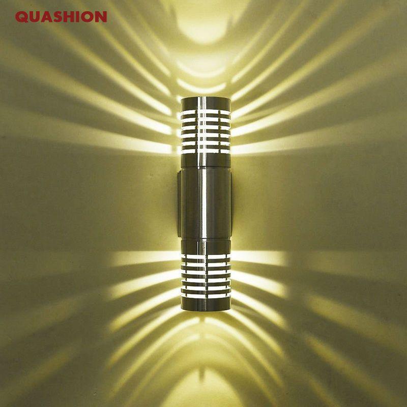 Applique murale moderne LED applique appliques haut et bas mur LED lampe pour Hall chambre couloir lampe toilettes salle de bain décoration
