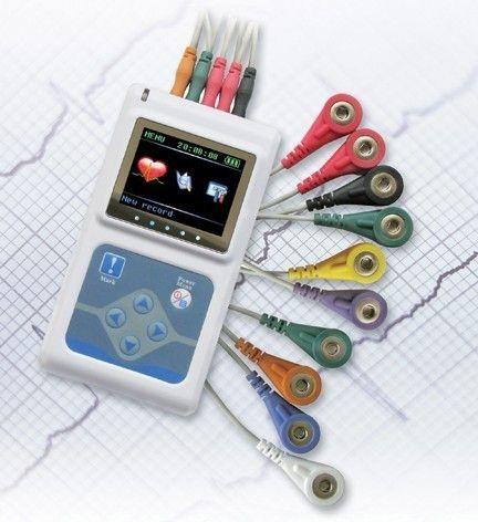 Contec Hersteller verschiffen NEUE 3 Kanäle EKG Holter, EKG Holter, EKG-Monitor System, 24 stunden EKG Recorder TLC9803