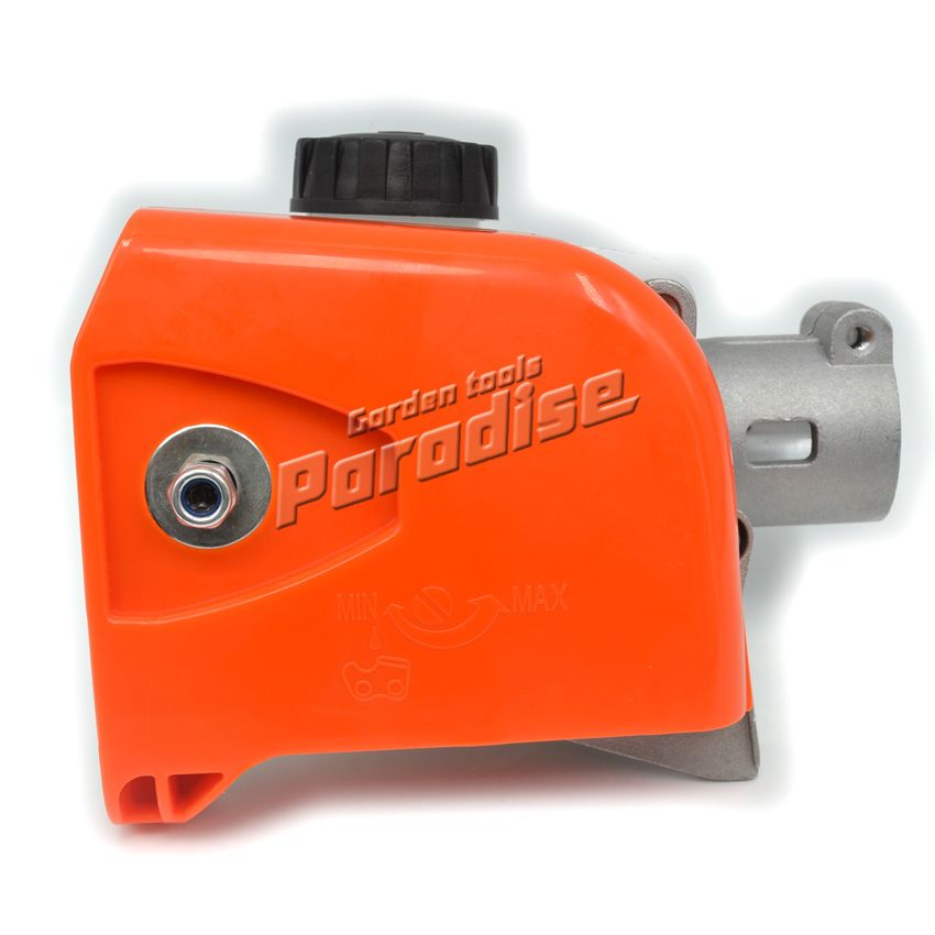 Réservoir d'huile de tête de scie à poteau 4 en 1 ensemble de tête de vitesse de boîte de vitesse d'outil multifonctionnel avec la cannelure de 26 MM 9 T