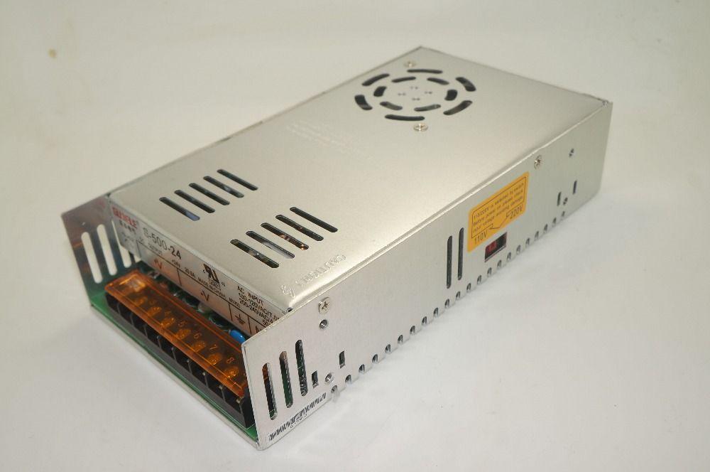 S-500-48 500 W 48 V 10A MINI AC-DC de Salida Única de la Conmutación fuente de alimentación para LED luz de Tira