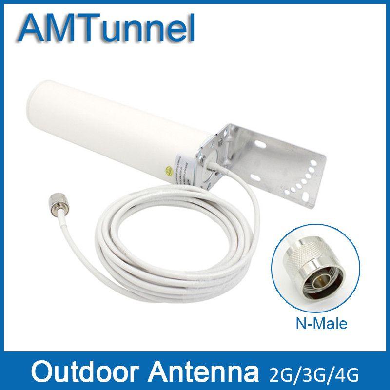 4G antenne 3G 4g outdoor antenne 12Dbi 3G antenne GSM externe antenne mit N stecker für handy-signal-repeater booster