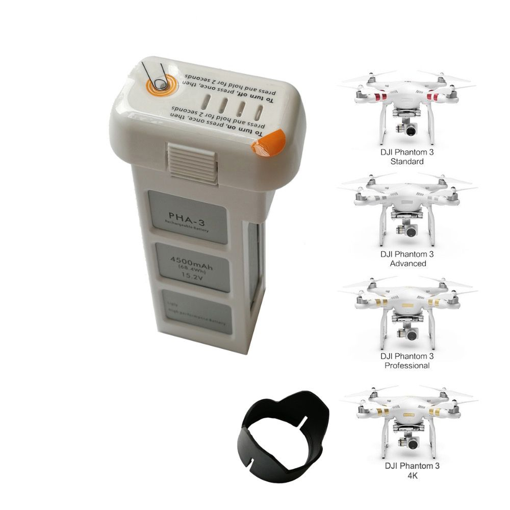 CLEAN DOLL 4500mAh Li-Po Replacement Drone Battery for DJI Phantom 3 battery Phantom 3 SE Advanced Intelligent drone battery