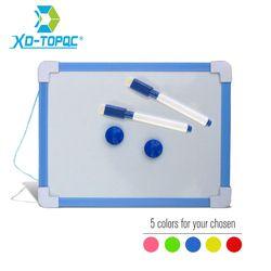 20,5*15,6 см Магнитная детская доска сухая салфетка доска 5 цветов рамки Мини Рисунок белая небольшой висит стереть доски с ручкой
