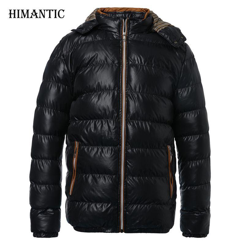 Зимняя куртка Для мужчин теплое пальто спортивная верхняя одежда Зимняя парка надпись plumas Hombre Для мужчин пальто и куртки Большие Размеры ...