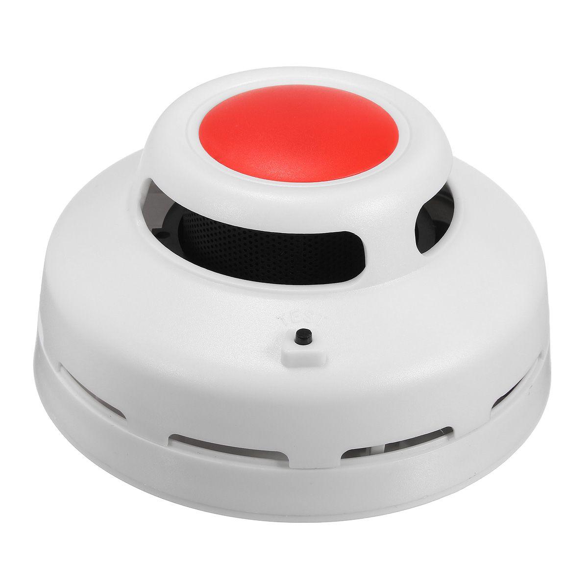 2 in1 Combinación CO Alarma de Monóxido de Carbono Y Humo y Detector de Humo Alarma de Advertencia de Seguridad Para El Hogar