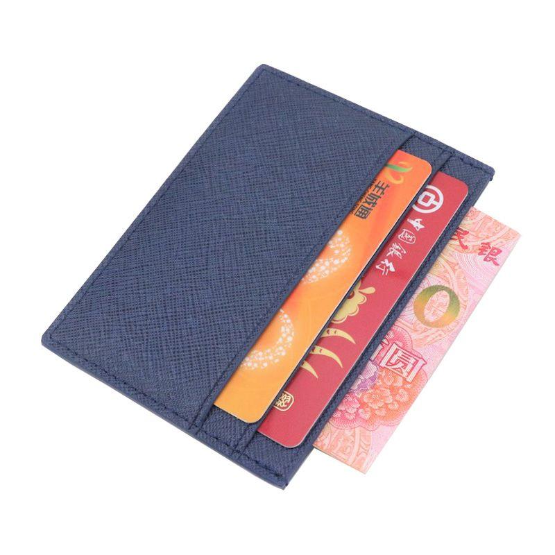 Ограниченная серия специально начальные буквы Бизнес натуральной сафьяновой кожи держателя карты ID Card Case без каблука держатель кредитной ...