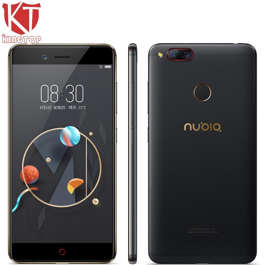 Original ZTE Nubia Z17 mini Mobile Phone 5.2'' 6GB RAM 64GB ROM Snapdragon 652 Octa Core Dual Rear Camera 13MP Android Phone