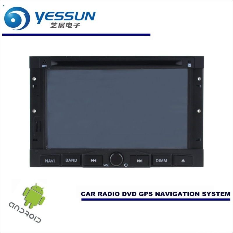 YESSUN Car Android Navigation System For Peugeot 307 2001~2013 - Radio Stereo CD DVD Player GPS Navi BT HD Screen Multimedia