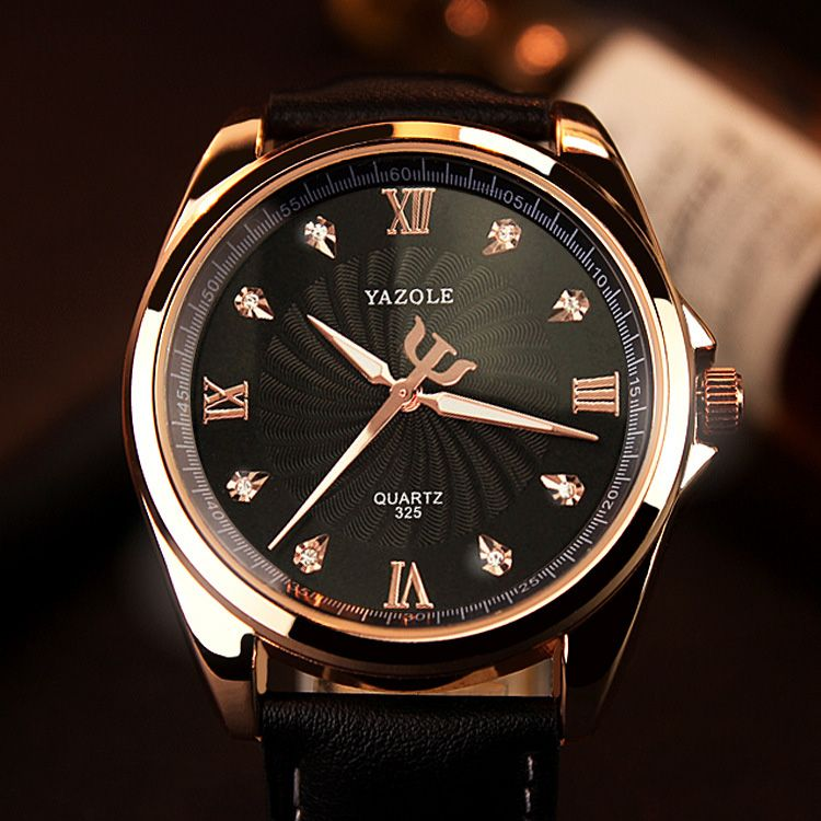 YAZOLE 2018 Quartz Watch Men Diamond Mens Watches Top Brand Luxury Famous Wristwatches For Male Clock Hodinky <font><b>Relogio</b></font> Masculino