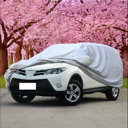 SUV coche universal cubre para Tiguan para Outlander Wagon hatchback nieve polvo protección parasol completo cubierta