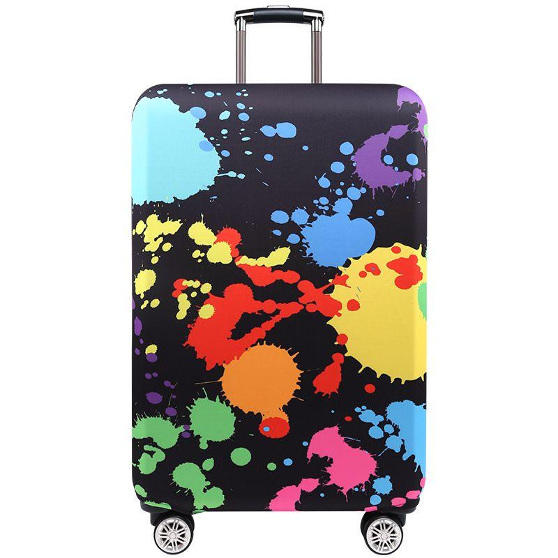 TRIPNUO couverture de bagage de ville bleue plus épaisse valise de voyage housse de protection pour étui de coffre appliquer à 19 ''-32'' couvercle de valise