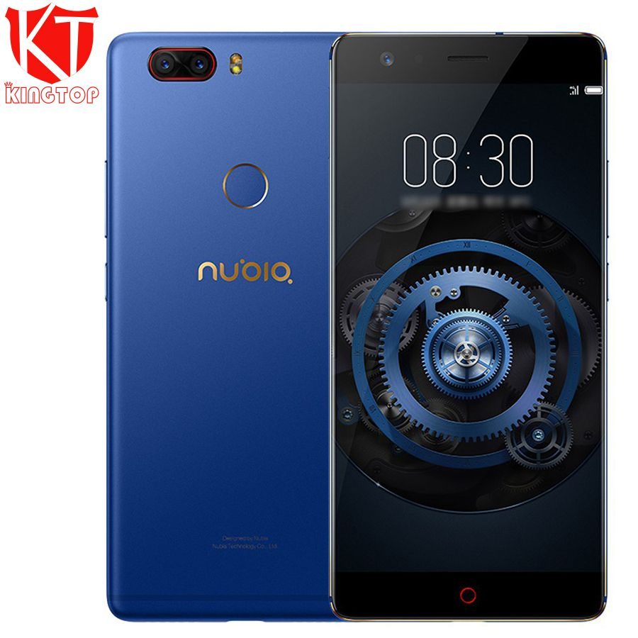 Original ZTE Nubia Z17 Lite Mobile Phone 6GB RAM 128GB ROM 5.5 inch Snapdragon 653 Octa Core 4G LTE Dual 13MP Rear Camera NFC