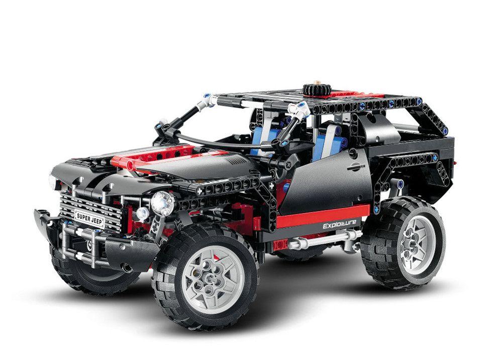 Décool Technic City les kits de blocs de construction de voiture de croiseur extrême SUV briques modèle classique enfants jouets Compatible Marvel