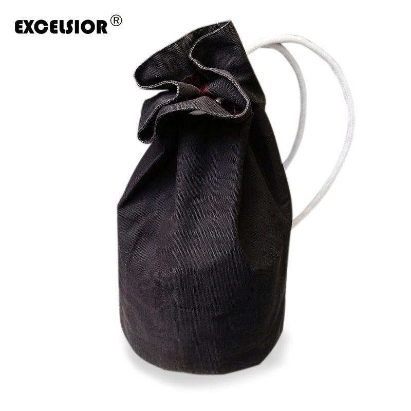 EXCELSIOR 2019 Conception Originale Grande Capacité Femmes Homme sac à dos à cordons sac seau en toile sacs à bandoulière haute qualité Nouveau