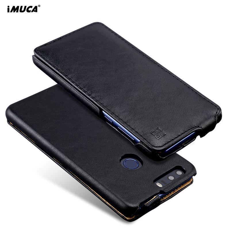 Für Huawei Honor 8 Fall Leder Flip Fall Für Huawei Ehre 8 Abdeckung Fall iMUCA Luxus Brieftasche Für Huawei Honor8