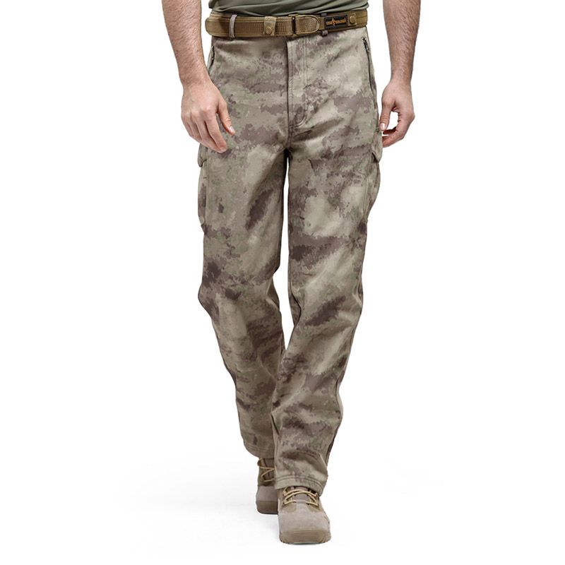 Shark Skin Softshell Tactical Military Camouflage Pants Men Winter Army Waterproof Warm Fleece Sport Camo Hunting Outdoor Pants