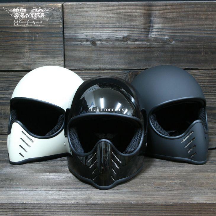 TT&CO Tokyo style motorbike helmet chopper style retro motorcycle vintage helmet The new Iron Man moto helmet