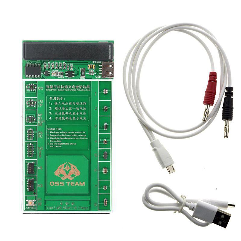 2017 handy-reparatur-werkzeug-set schnelle Batterieladung Aktivierung Bord platte power current test kabel für iphone 7 7 plus 6 6 s 6 s plus...