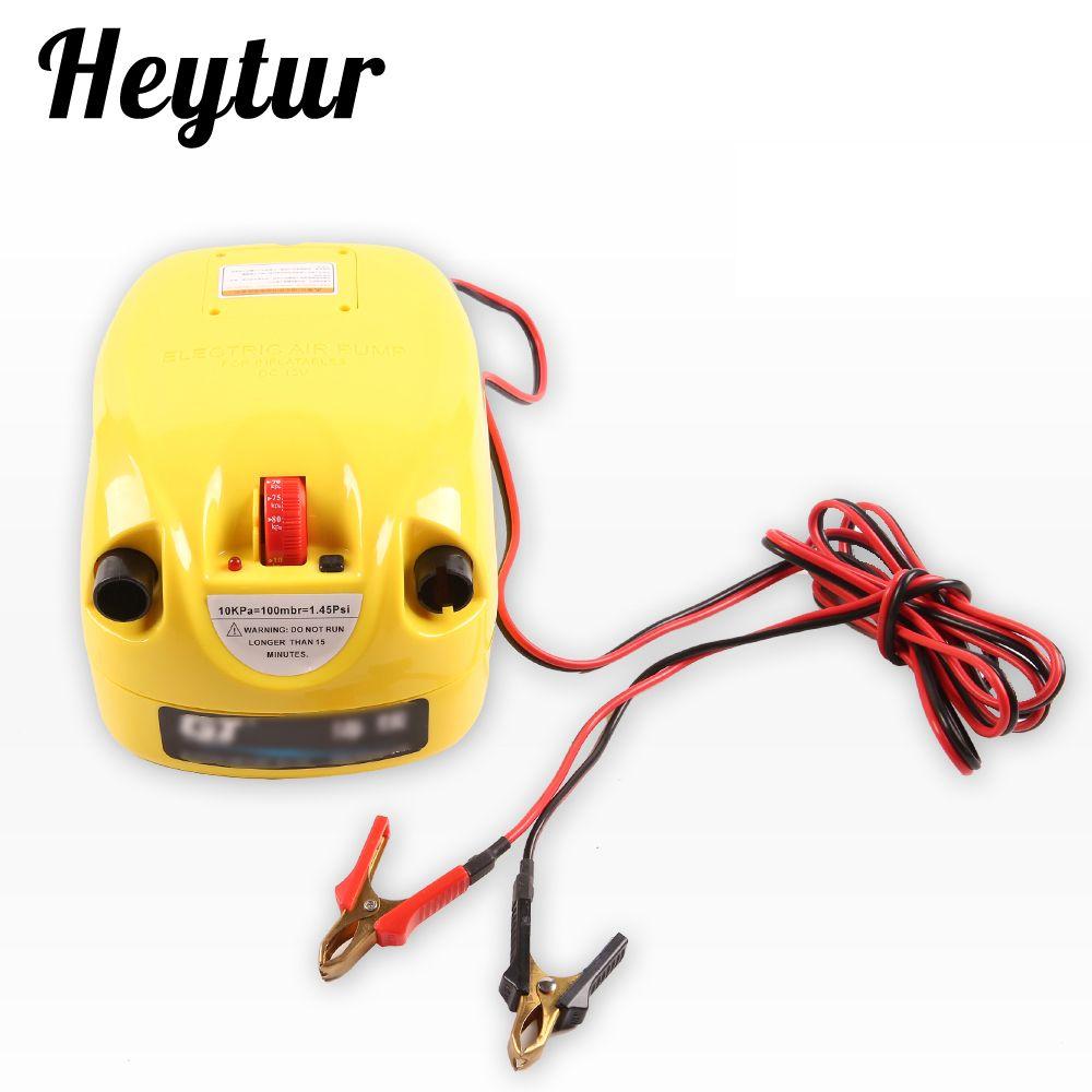 Hohe qualität einstufige hochdruck elektrische pumpe luftpumpe für aufblasbare sups kajaks und boote