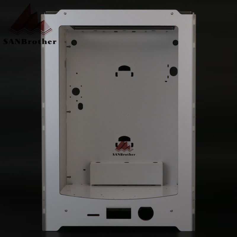 3D Printer Frame Aluminium-plastic Acrylic Box Shell Compatible With Ultimaker Um2+ Extended Case Shell 2 Hanging Filament Holes