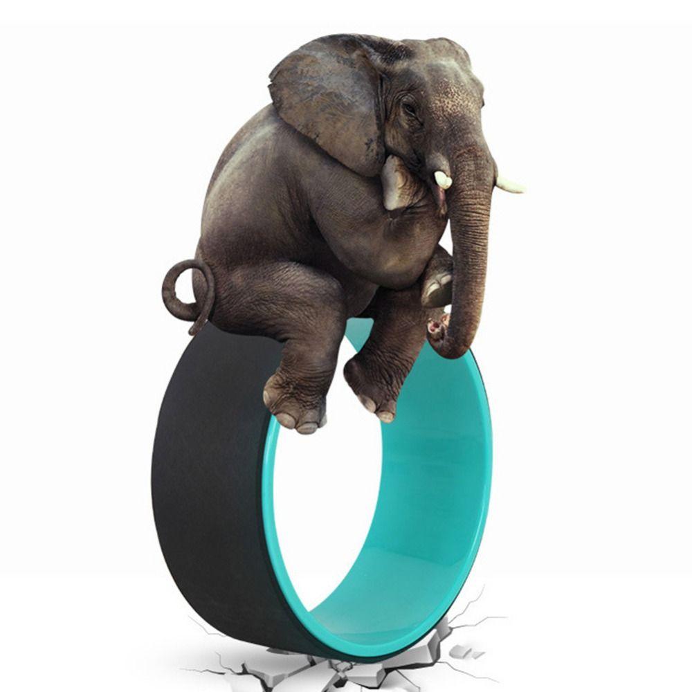 Yoga Circles TPE Professional Waist Shape Bodybuilding ABS Gym Workout Yoga Wheel Back Training Tool