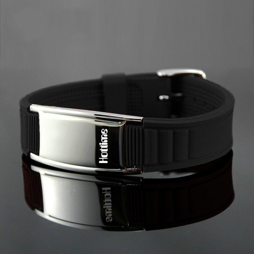 Hottime 2000 Ions Titane Germanium Bracelet Bracelet Bilan Énergétique Balance Corps Humain