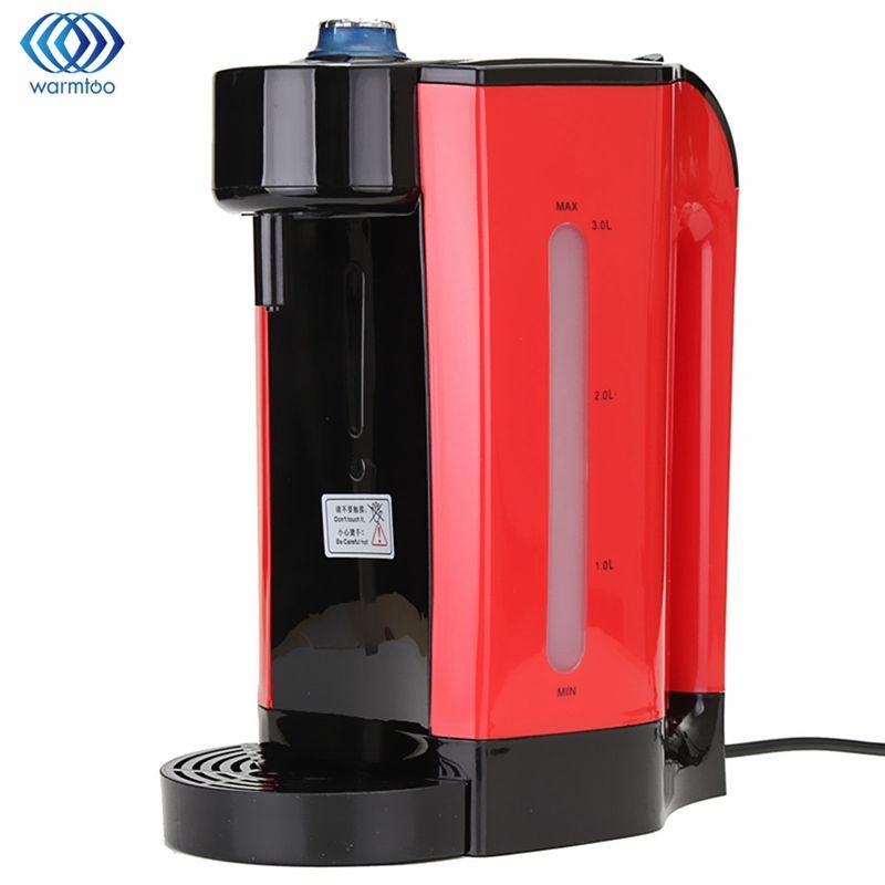 Instant Heating Electric Hot Water Dispenser 3L Boiler Electric Kettle Desktop Coffee Tea Maker Boiling Kettle Home 2200W