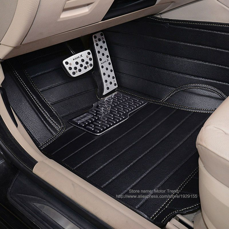 Car floor mats for W211 W212 W204 W205 W176 W169 Mercedes Benz A B C E class W245 W246 3D all weather car-styling rugs carpet