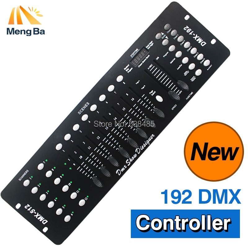 192 DMX Controller Stage Lighting DJ equipment DMX 192 Console for LED Par Moving Head Spotlights DJ Controller