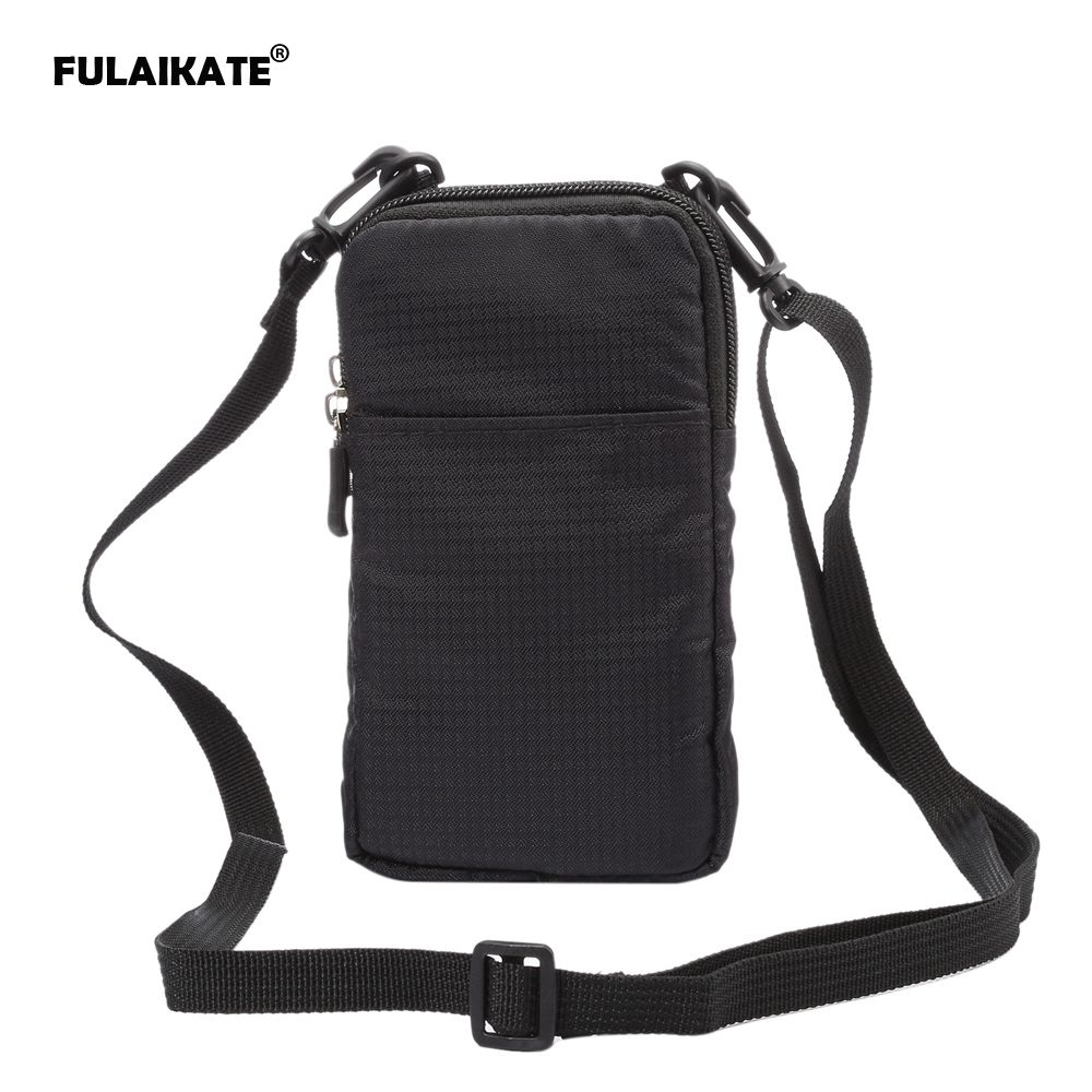 FULAIKATE SPORTS Universal Wallet Bag for iphone6 7 Plus Climbing Portable Case for iPhone 6s mobile phone Shoulder bag holster