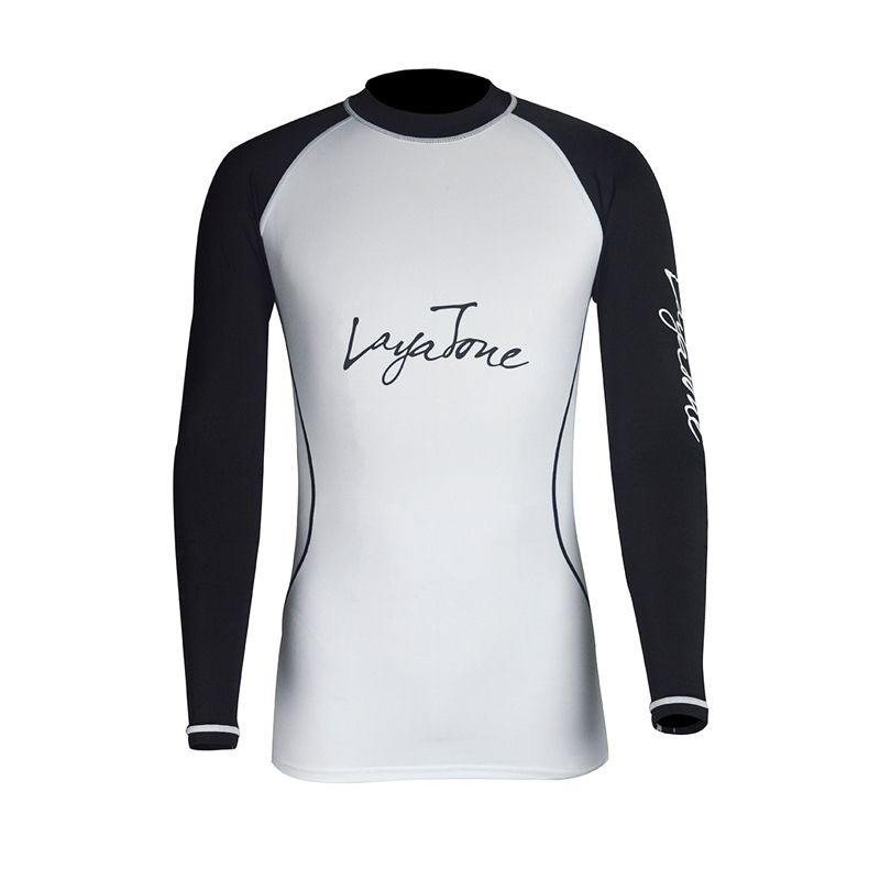 Layatone garde éruption hommes T-Shirt manches longues maillots de bain maillot de bain surf maillot de bain Sport Fitness Gym pantalon UV 50 + maillot de bain