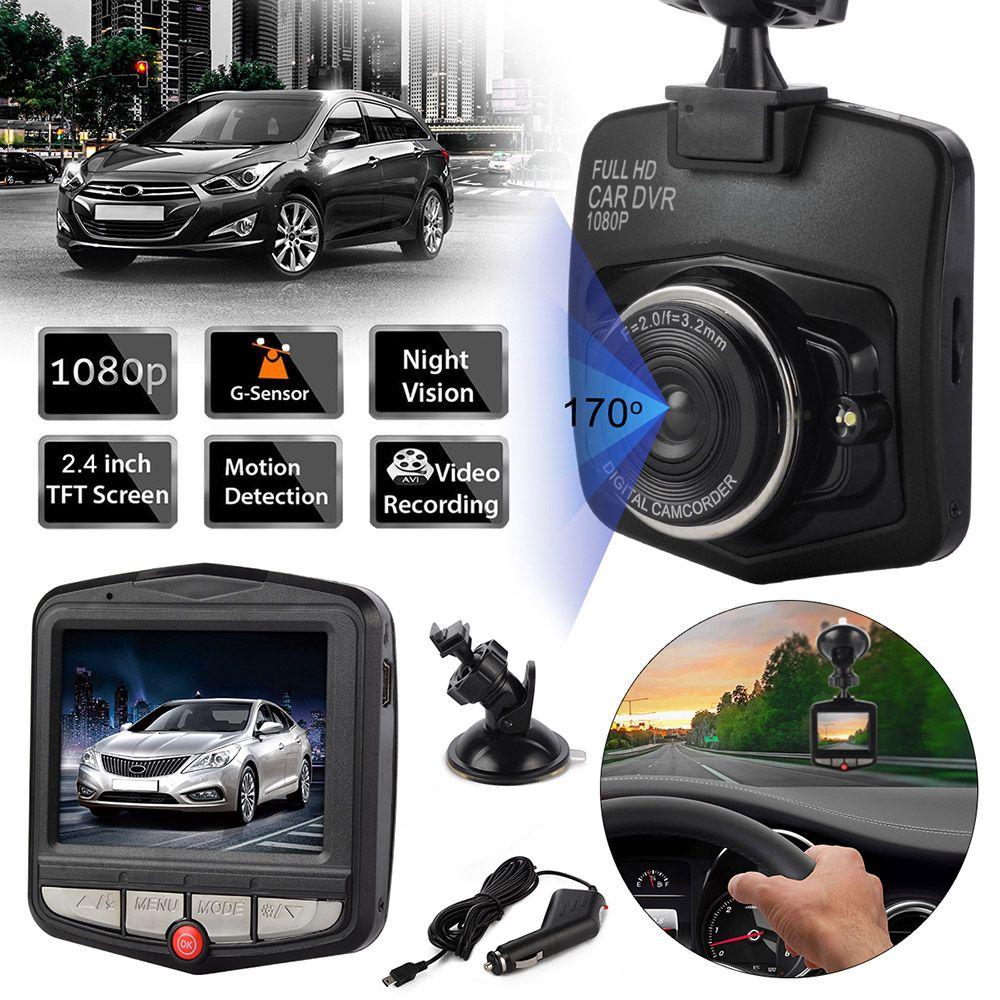 Caméra de voiture Portable Mini DVRs enregistrement vidéo caméscope enregistreur de stationnement enregistrement en boucle capteur G DVR