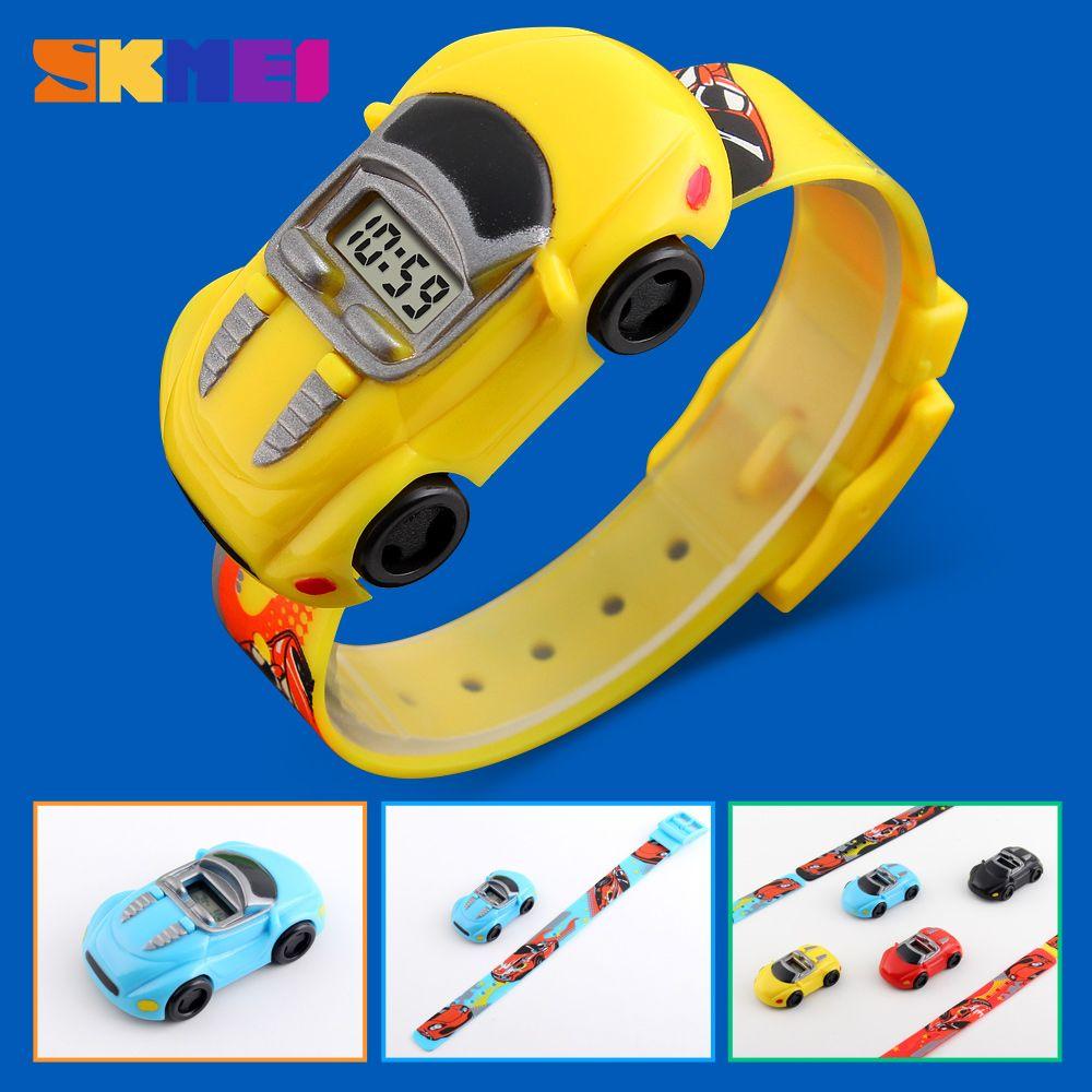 Kids Children Watches Brand Fashion Creative Digital Sport Kid Watch Boys Girls Cartoon Car Wristwatches children Wrist Watch
