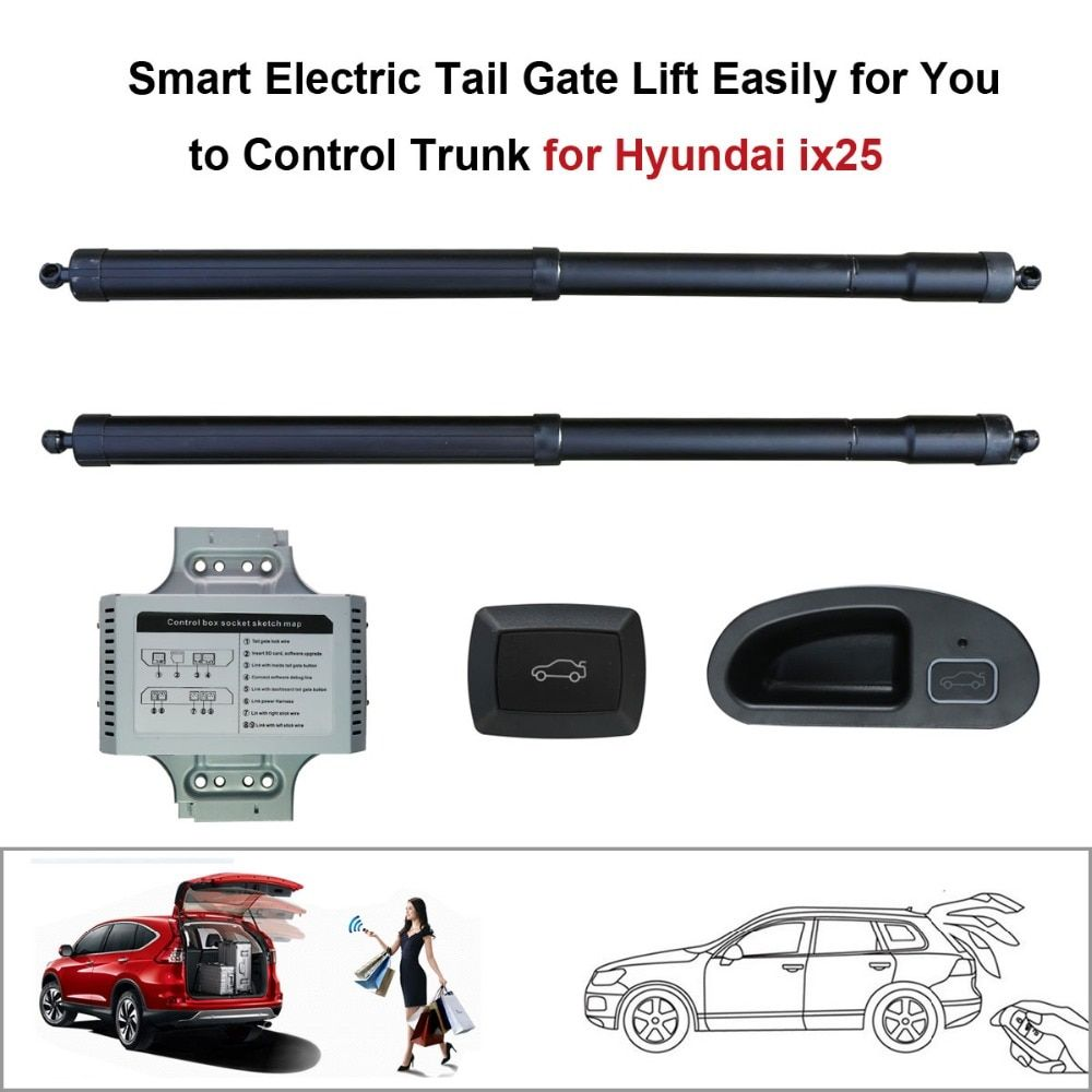Smart Electric Tail Gate Lift Easily for You to Control Trunk Suit to Hyundai ix25 Hyundai Creta Control by Remote and Buttons