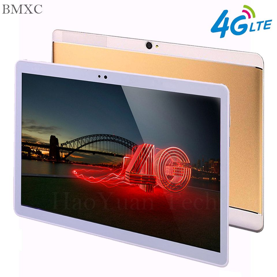 2018 free shipping phone call tablet Android 7.0 10.1 inch tablet 4G LTE android tablets Octa Core <font><b>1920</b></font>*1200 Kids Tablet pc gift