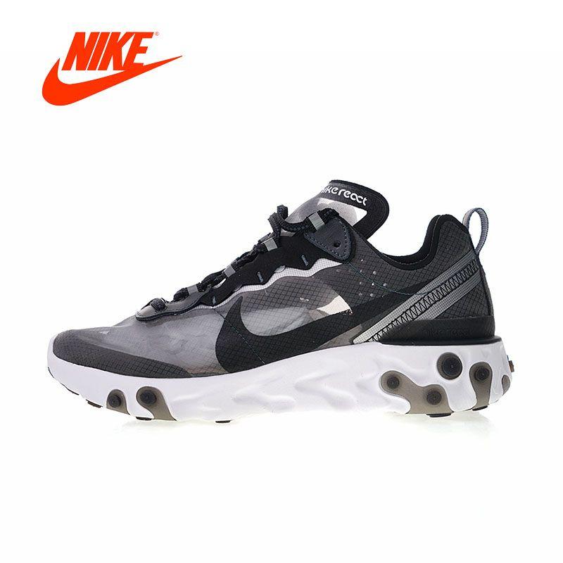 Original Neue Ankunft Authentic Nike Kommenden Reagieren Element 87 männer Sport Im Freien Laufschuhe Turnschuhe Gute Qualität AQ1090-001