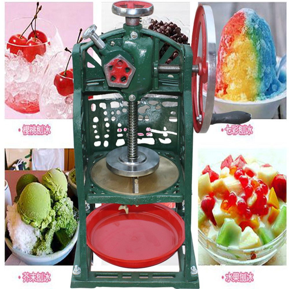 mini household ice shaver machine hot sell home use manual ice crusher ZF