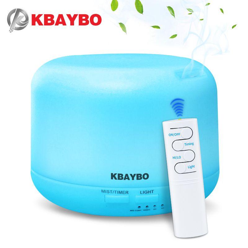 300 ml USB télécommande à ultrasons Air arôme humidificateur 7 couleurs LED lumières électrique aromathérapie huile essentielle arôme diffuseur