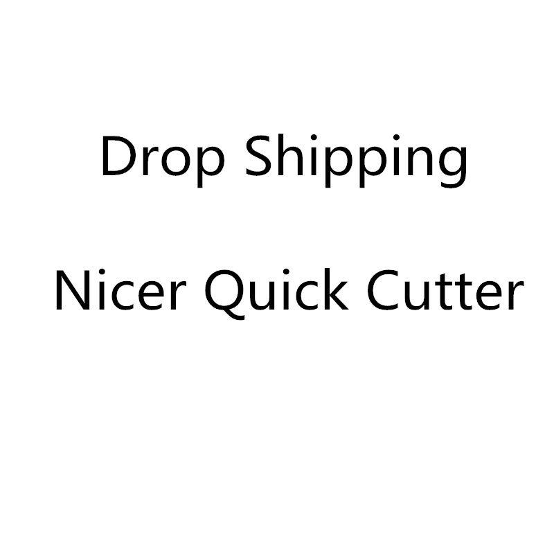 2019 Drop Shipping Nicer Quick Vegetable Fruit Slicer