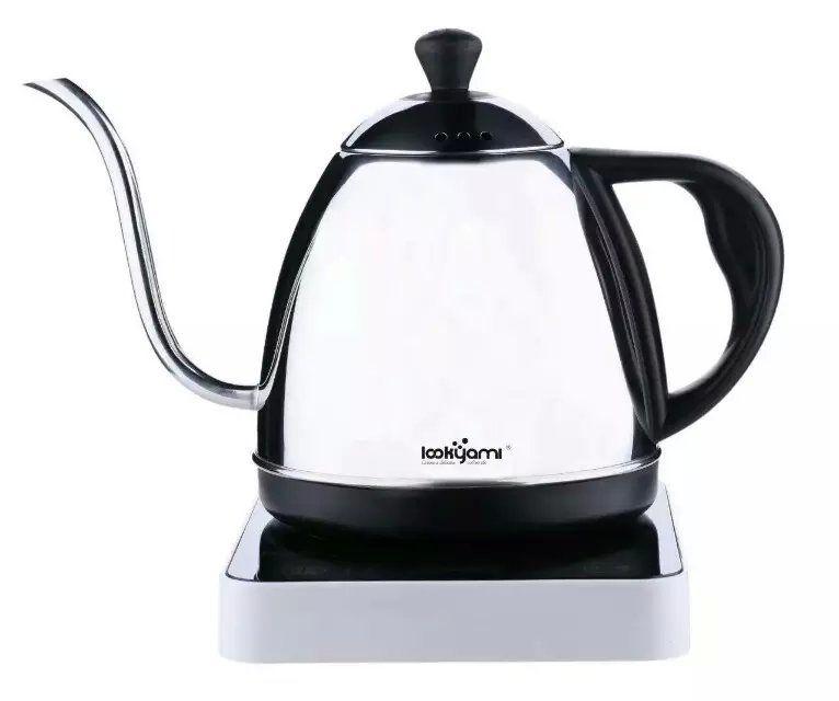 Интеллектуальный многофункциональным Электрический капельного чайник для чая/кофе/молоко, чайник/длинные spount keettle с высокого качества
