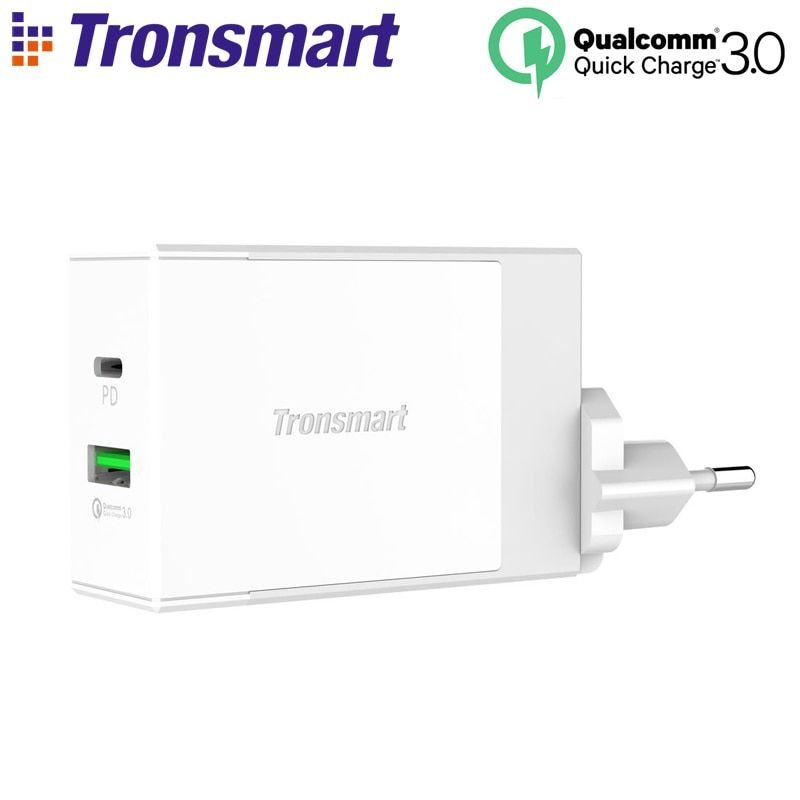 Tronsmart W2DT USB PD Charger USB Type C Power Delivery Quick Charge 3.0 for Xiaomi Mi5 for Huawei P10 So On Fast Phone Charging