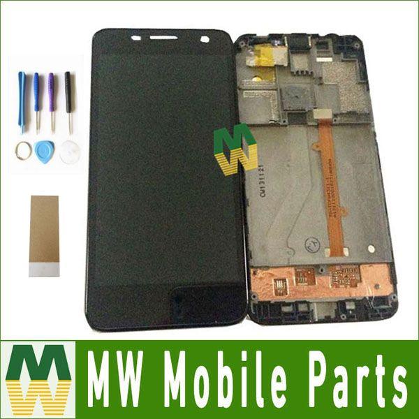 1 PC/Lot Pour Alcatel One Touch mini Idol 6012 OT6012 6012A 6012D Écran lcd + Écran Tactile Avec Des Outils Noir couleur