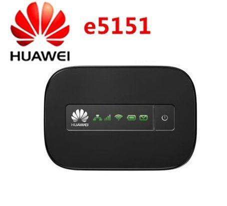 Routeur wifi mobile d'origine débloqué Huawei e5151 21.6 Mbps 3g avec hotspot d'origine
